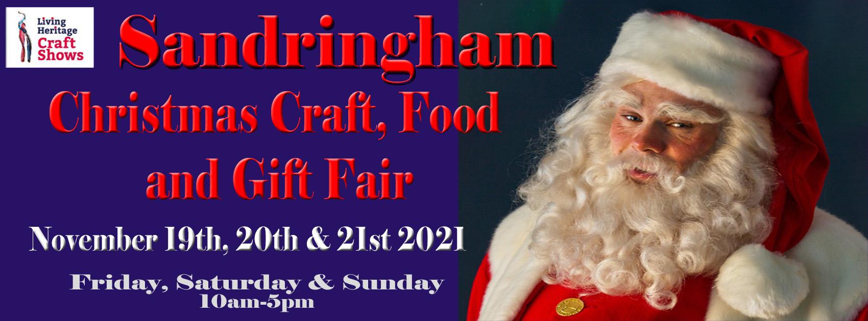 Sandringham Christmas Craft, Food and Gift Fair