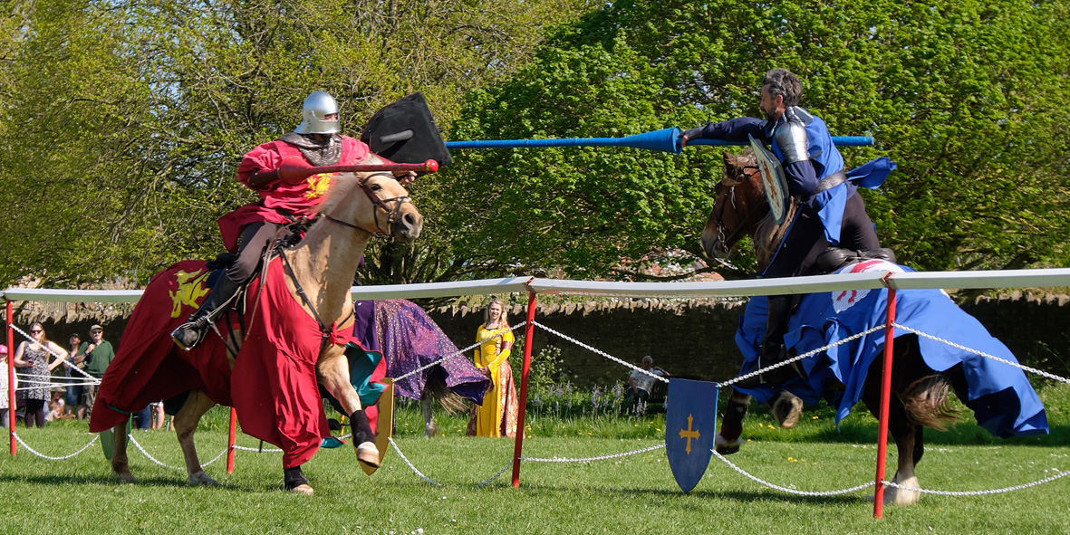 Jousting-Burghley